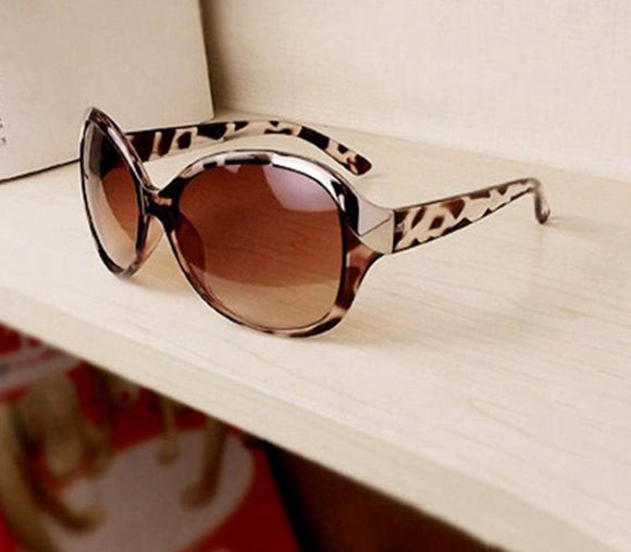 Sexy Cat Eye Leopard Sunglasses