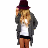 Stylish Asymmetrical Cardigan