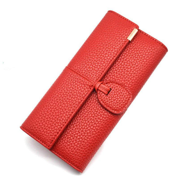 Stylish Look Luxury Clasp Wallet