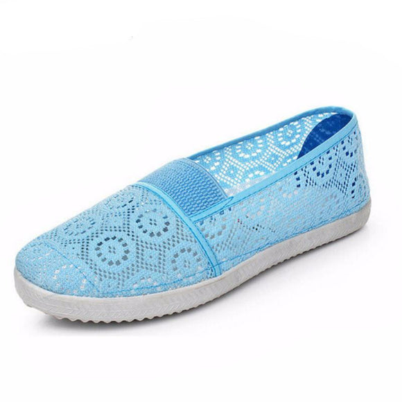 Soft Insole Mesh Casual Women's Loafers
