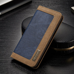 Vintage Denim Case And Stand For Samsung Galaxy S8 Plus Note 8