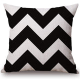 Modern Geometric Winter Christmas Theme Pillow Cases