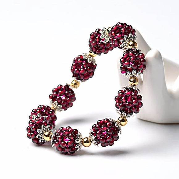 High Quality Garnet Color Bracelet