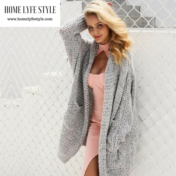 Stylish Loose Sweater Cardigan