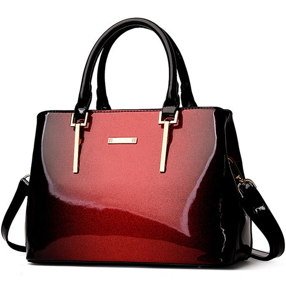 Stylish Ombre Color Handbag