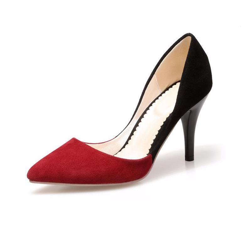 ... Gorgeous Low Cut High Heel Pumps ...