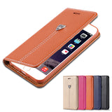Luxury Magnetic Flip Case For Apple iPhone 7 Plus iPhone 6 6S Plus