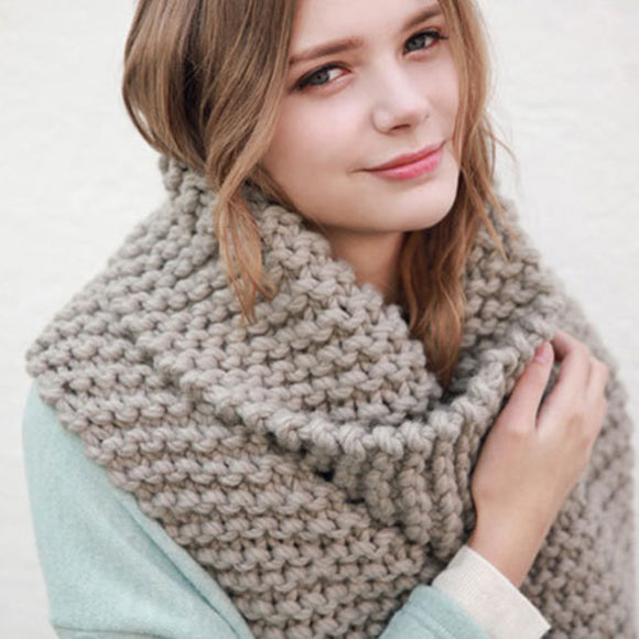 Stylish Knitted Scarf