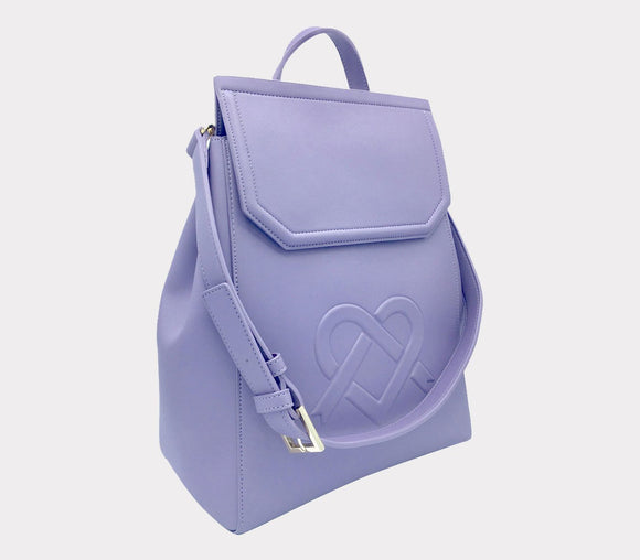 Livia Stylish Backpack - Lavender