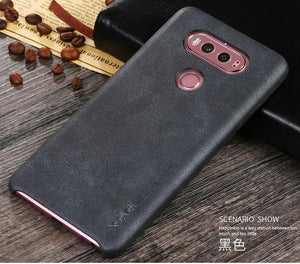Ultra Slim Luxury Faux Leather Case for LG V20