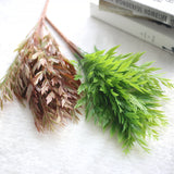 Classy Autumn Artificial Grass Leaves