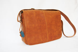 Handmade Men and Women Moroccan Leather Messenger Bag
