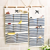 Multi-function Wall Door Closet Hanging Storage Sorting Bag/Pouch 6 & 8 pockets: Socks, Underwear, Cosmetics, Keys, Toys