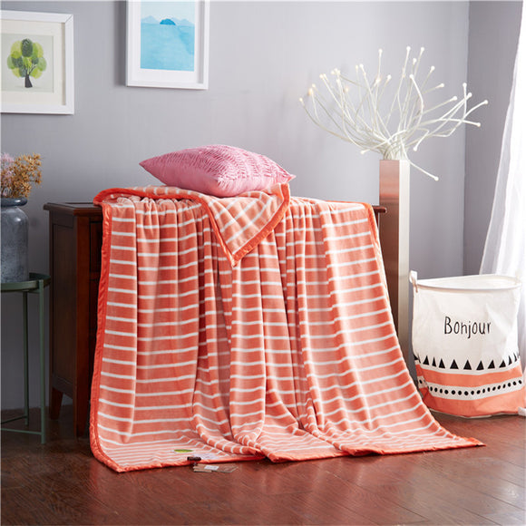 Comfortable Stylish Striped Blanket