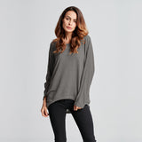 Stylish Batwing Blouse