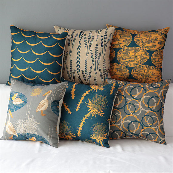 Stylish Bronze Colored Pillow Cases
