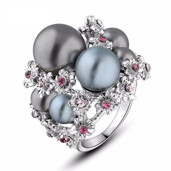 Stunning Pearl Style Ring
