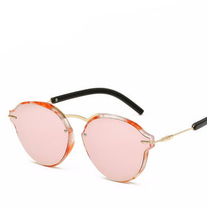 Luxury Fashion Gold Frame Sunglasses