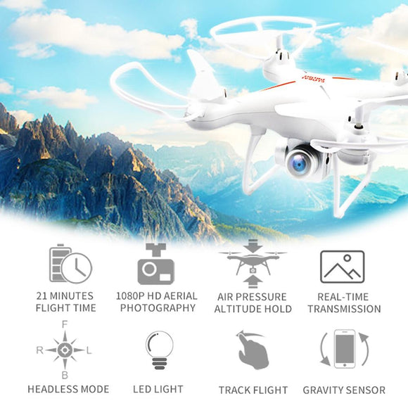 Ninja Dragons WiFi FPV Voice Control Remote Control Quadcopter Drone with 1080P HD Camera