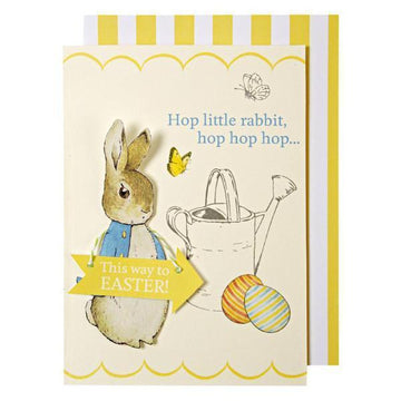Peter Rabbit Easter Card