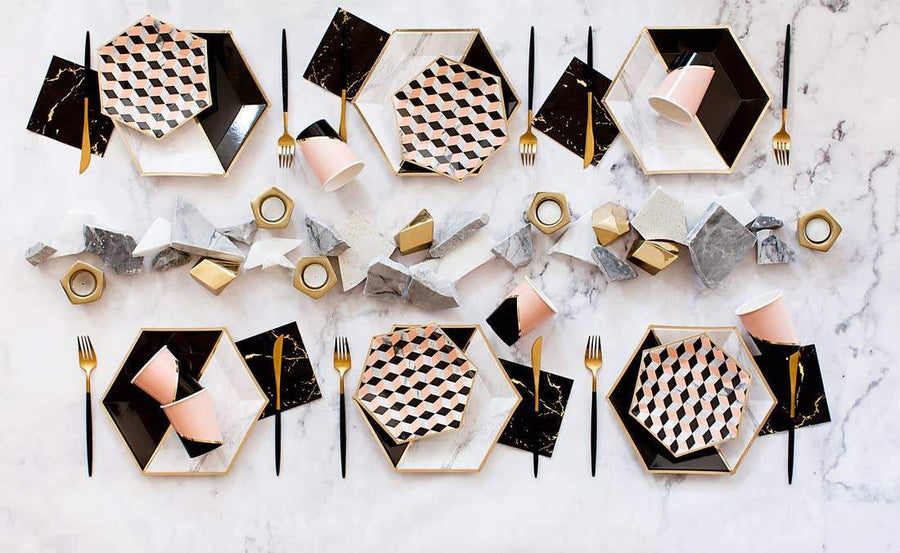 Modern Marble Party Supplies