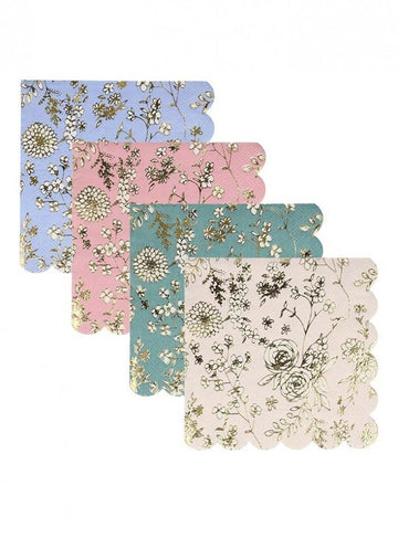 English Garden Scalloped Napkins