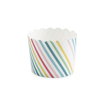 Rainbow Stripe Treat Cups