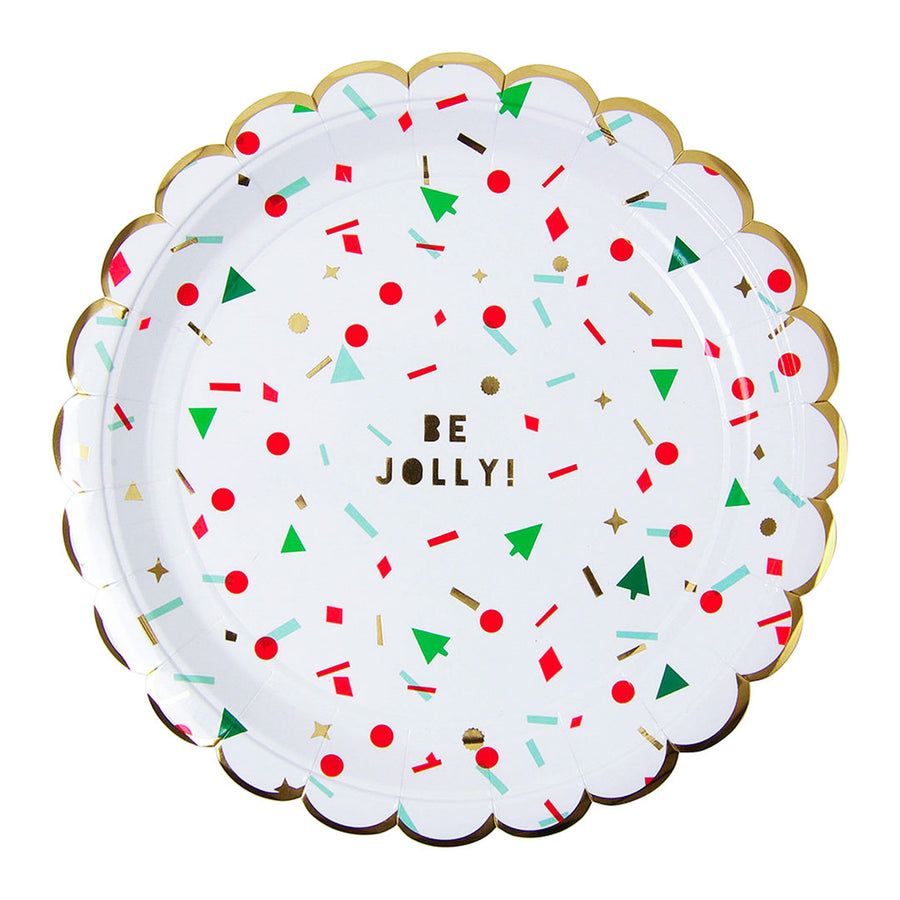 Meri Meri Be Jolly Plates
