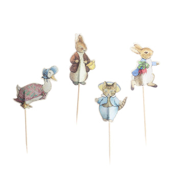 Peter Rabbit Party Cupcake Toppers