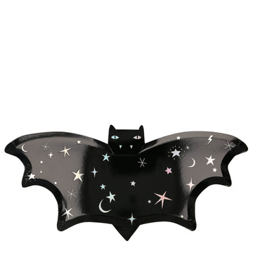 Die Cut Sparkle Bat Plates