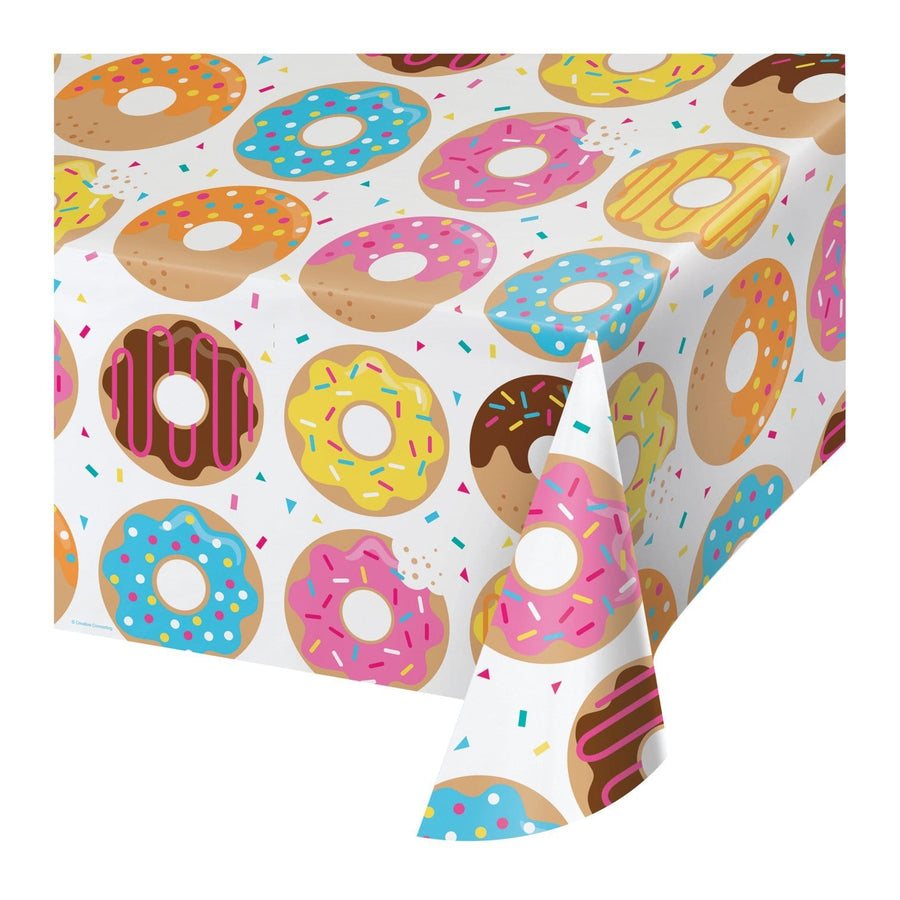 Donut Party Pattern Table Cover