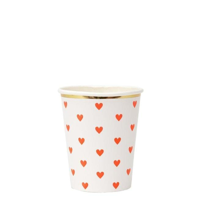 Party Palette Heart Cups