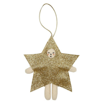 Meri Meri Gold Glitter Star Costume Ornament