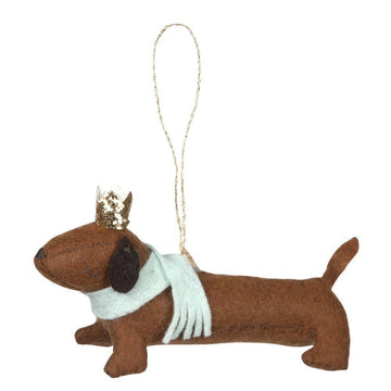 Meri Meri Dachshund Dog Ornament