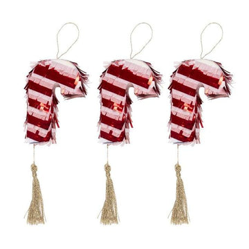 Mini Candy Cane Piñata Set