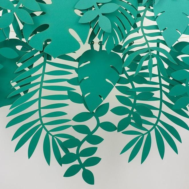 Green Leaf Garland