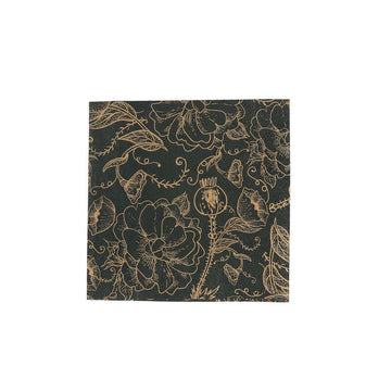 Baroque Floral Cocktail Napkins