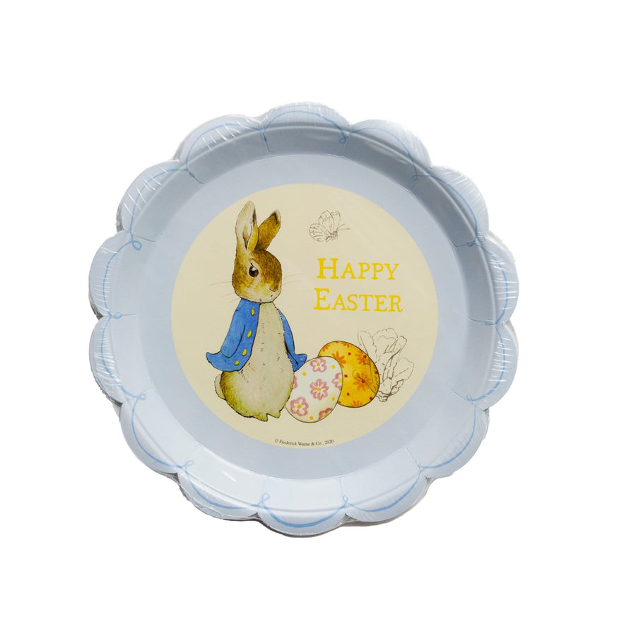 Blue Peter Rabbit Happy Easter Plates