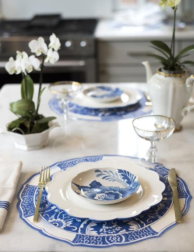 China Blue Placemats