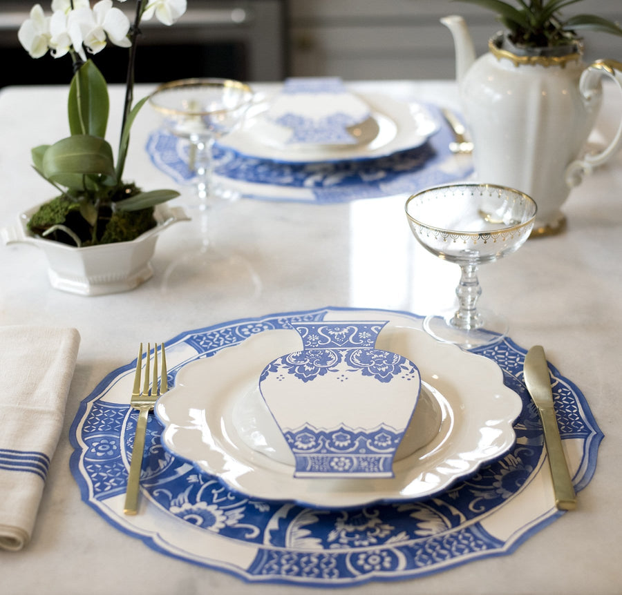 China Blue Vase Table Accents
