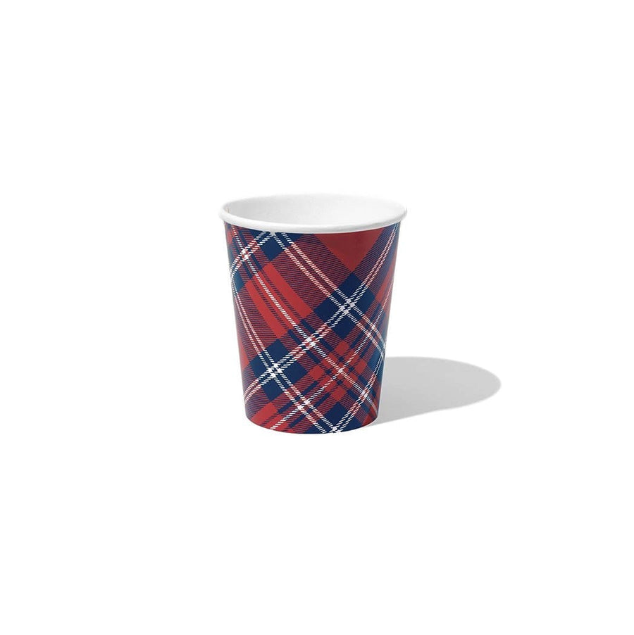 Plaid Party Cups