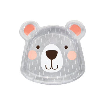 Die Cut Bear Plates