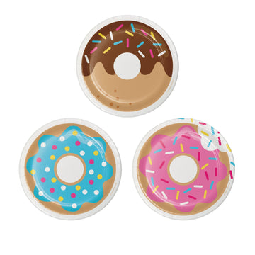 Doughnut Party Cake Plates