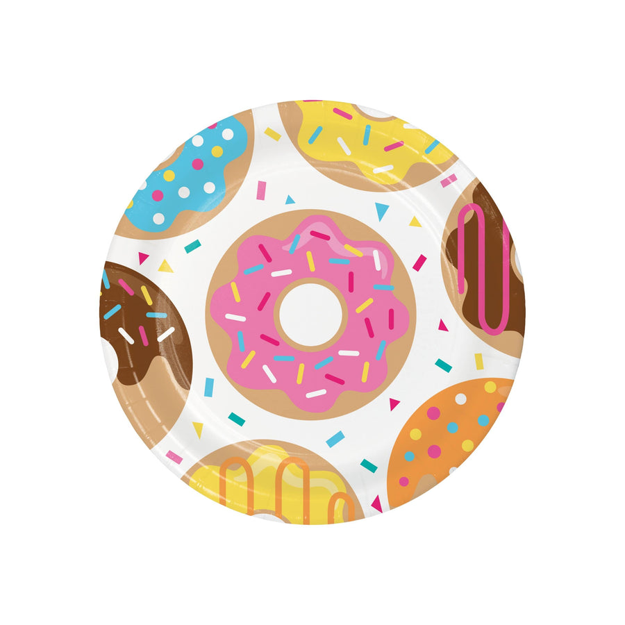 Doughnut Party Plates - Large