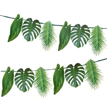 Jungle Leaf Palm Garland