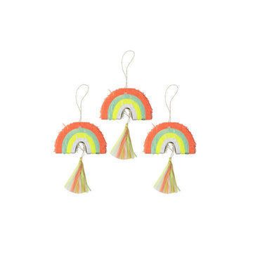 Mini Rainbow Piñata Set