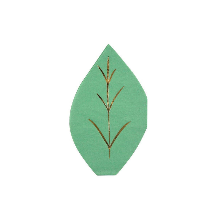 Leaf Shaped Party Napkins