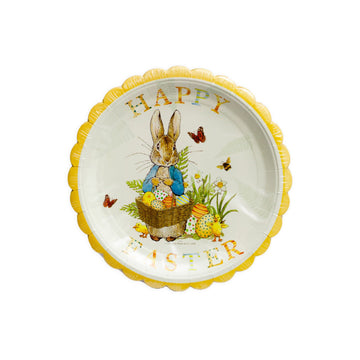 Peter Rabbit Blue Scalloped Plates