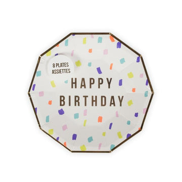 Meri Meri Happy Birthday Plates