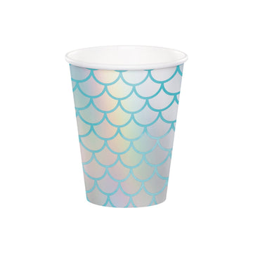 Iridescent Mermaid Scale Cups